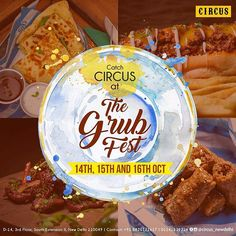 Come drop and experience the Circus at the grub fest... . . . . #circusnewdelhi #circus #southex #delhi #india #thegrubfest #foodie #foodporn #foodfood #eeeeeats #foodtalkindia #instalife #instagram #foodlover #blogger #like4like #follow4follow #lbb #trending #weekend #wine #drinks #dubai #grubfest2016 #grubfest #foodstagram #photography  Yummery - best recipes. Follow Us! #foodporn