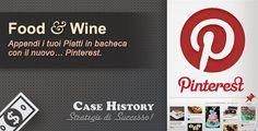 Pinterest: Appendi i tuoi Piatti in Bacheca