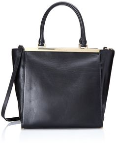 0192bea476b4 Women's Cross-Body Handbags - Michael Kors Lana Large Convertible Tote in  Black -- Details can be found by clicking on the image.