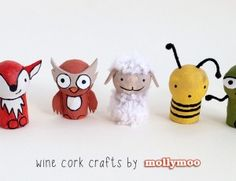 Wine Cork Crafts: Pocket Pals