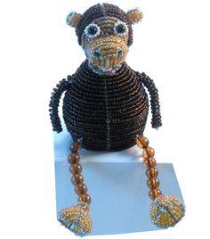 Beadworx Monkey Beadie Buddies  By Grass Roots Creations  $25.95