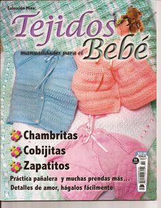 revistas de manualidades gratis Vogue Knitting, Knitting Books, Crochet Books, Knitting For Kids, Baby Knitting, Crochet Baby Poncho, Crochet Lace Edging, Knit Crochet, Crochet Hats