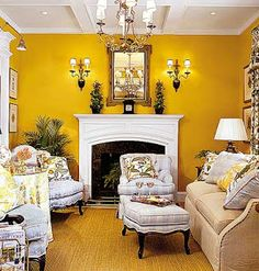 Purple Living Room Paint And Color Ideas Photos Pictures Images Of. Yellow Living Room Paint And Decoration Photos Pictures Galleries. Small Living Rooms, Southern Living Homes, Yellow Living Room Colors, Yellow Living Room Paint, Yellow Interior, Home Decor, Yellow Room, Yellow Living Room, Home Design Plan