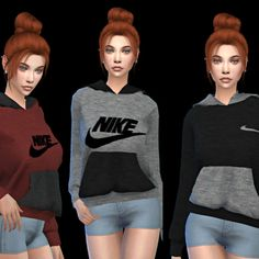Leo 4 Sims: Hoodies • Sims 4 Downloads