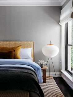 A chic bedroom in a functional yet elegant home by Arent & Pyke | Belle