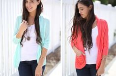 Lightweight Ruched Cardigan - 7 Colors!
