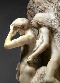 Orpheus and Eurydice, Auguste Rodin