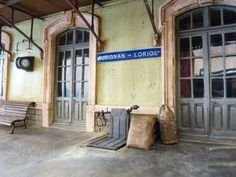 Railway express entrances