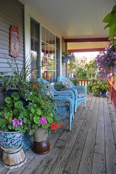Summer on the Front Porch ~ Country Style Living