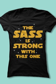 ♥ this sassy Star Wars shirt! My Halloween shirt if the whole family does Star Wars one year Looks Style, Looks Cool, Style Me, My Little Beauty, Little Mac, Star Wars, Luanna, Rico Design, Shirt Designs