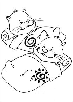 Zhu Pets Coloring Pages 27