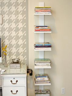 Trendy Home Office Organization Diy Ideas Shelves Office Organization Tips, Desktop Organization, Bookcase Organization, Home Office Decor, Diy Home Decor, Office Ideas, Office Furniture, Office Designs, Furniture Stores