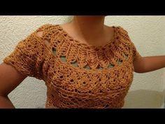Tutorial de Blusa a Crochet Paso a Paso Facil y Rapido #3