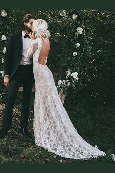 ab5e5bc489e4 Cheap Engrossing Wedding Dresses Lace, Vintage Wedding Dresses, High Neck Wedding  Dresses