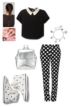 """Cute Polka Dots"" by q-griffin on Polyvore featuring Keds, Boutique Moschino and Kin by John Lewis"