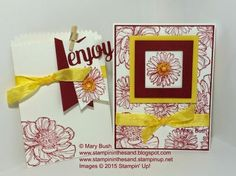Stampin Up bloom with hope stamp set gift set.