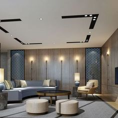 Who Is Lying To Us About Golden Lighting Design Ideas For Modern Luxury Homes 42 - homesuka Ceiling Design Living Room, False Ceiling Design, Living Room Interior, Living Room Designs, Luxury Interior, Modern Interior, Interior Architecture, Interior Design, Plafond Design