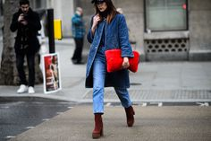 On the Streets of London Fashion Week Fall 2015 - London Fashion Week Fall 2015 Street Style Day 1
