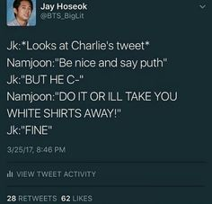 I know it's not specified but....PAPA NAMJOON