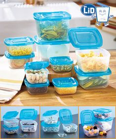 Mr. Lid Containers feature a patented attached lid design. Each snap-close lid is permanently attached to its base so you'll never misplace it or have to sort t