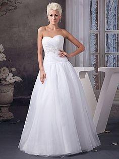 Radclyffe - Трапеция Атласная свадебном платье с Отделка бисером - RUB 10751,92руб.