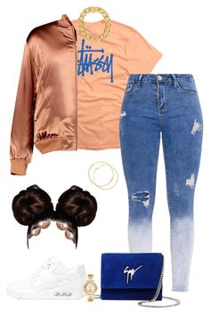 """AYOxTEO-ROLLY❤"" by jmerritt12 ❤ liked on Polyvore featuring Stussy, Boohoo, NIKE, Giuseppe Zanotti, AMBUSH and Michael Kors"
