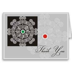 A trendy and modern swirls pattern as a background to express your appreciation  #thankyoucards
