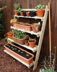 Amazing Useful Ideas: Veggie Garden Ideas Fence small backyard garden tiny house. Small Backyard Gardens, Small Space Gardening, Small Gardens, Garden Ideas For Small Spaces, Vertical Herb Gardens, Ideas For Small Patios, Balcony Herb Gardens, Tiny Garden Ideas, Vertical Planting