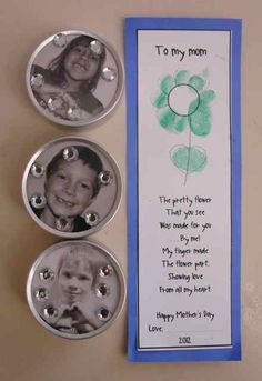 Mother's Day Crafts I love this poem.  Will make a cool keepsake bookmark