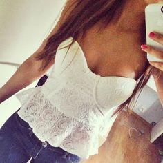 Lovely straples corset | via Facebook