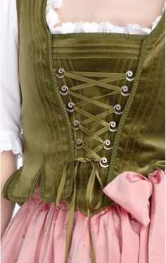 Escada Dirndl 2013. Repinned by www.mygrowingtraditions.com......love these colors together