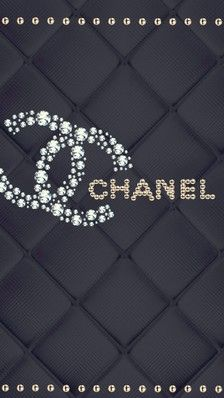 CHANEL Iphone Lockscreen Wallpaper Walpaper Backgrounds 3d Pattern