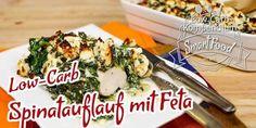 Der Spinatauflauf mit Fetakäse & Hähnchenbrust ist ein richtig leckeres Low-Carb Rezept, dass sowohl zum Mittagessen als auch Abendessen passt.