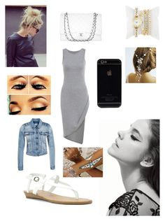 Untitled #202 by farah-future-malik on Polyvore featuring moda, Object, Blowfish, Chanel and Flash Tattoos
