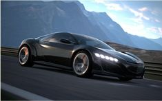 After Mercedes-Benz and its AMG Vision Gran Turismo concept, which is found in the video game Gran Turismo 6, here it is the turn of the manufacturer Honda to do the same, with its concept Acura NSX.A virtual racing car, heralding the silhouette will take the Acura NSX Series in 2015.   #Acura NSX Concept: another star in Gran Turismo 6 #car #cars guide #motors #News #The Car Guide #the cars