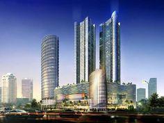 Gedung tertinggi di Indonesia Sahid Sudirman Center