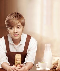 Luhan 鹿晗 ad for Wei Ke Zi