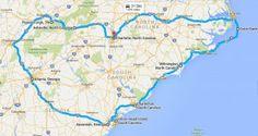 USA Roadtrip: North Carolina - South Carolina - Georgia - Tennessee