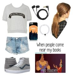 """""""Outfit"""" by archer10 ❤ liked on Polyvore featuring One Teaspoon, Vans, Ficcare and Sennheiser"""