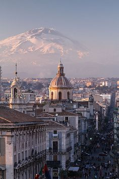 Catania and Mount Etna | Flickr - Photo Sharing!