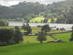 This is the view that Wordsworth had when he moved from Dove Cottage to Allan Bank in the Lake District. Almost every room of his home had such a view. Beautiful. Inspiring! No wonder he wrote such lovely poetry.