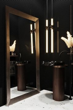 EGO дом on Behance Washroom Design, Bathroom Design Luxury, Toilet Design, Home Interior Design, Contemporary Bathroom Designs, Modern Bathroom, Minimalist Bathroom, Dark Bathrooms, Luxury Bathrooms