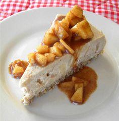 raw vegan apple pie cheesecake