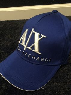 from  50.0 - New  Armani Exchange Mens Corporate Logo Hat 42cc4a897f8