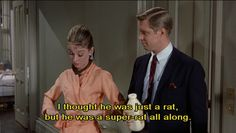 Breakfast at Tiffany's. This quote sums up my day in less than 140 characters.