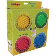 Balles texturées de Edushape-22