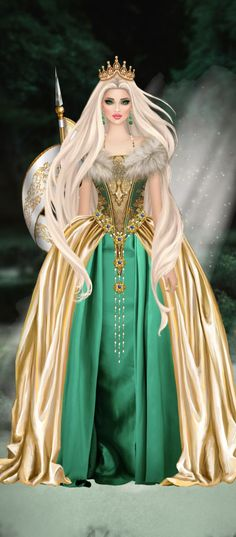 Fantasy Figures, Barbie Gowns, Beautiful Fantasy Art, Fantasy Story, Animated Cartoons, In Ancient Times, Fairy Art, Wedding Dress Styles, Covet Fashion