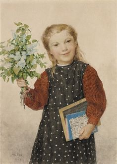 Artworks of Albert Anker (Swiss, 1831 - 1910) from galleries, museums and auction houses worldwide.