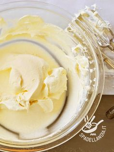 Ricotta cream - Crema alla ricotta - Creme e glasse Sweet Recipes, Cake Recipes, Dessert Recipes, Bolo Cake, Cake Fillings, Cupcakes, Recipe Today, Cream Cake, Happy Kitchen