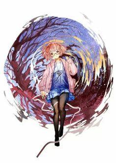 Kyoukai no Kanata #anime
